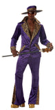 Pimp in Purple-Adult Costume