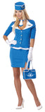 Retro Stewardess-Adult