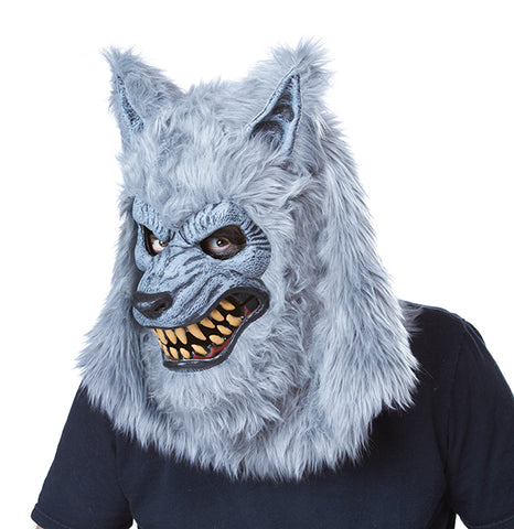 Gray Lycan Wolf Costume-Adult