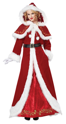 Mrs Claus Deluxe-Adult Costume
