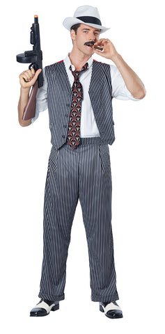 Mobster-Adult Costume - ExperienceCostumes.com