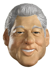Bill Clinton Deluxe Mask-Adult