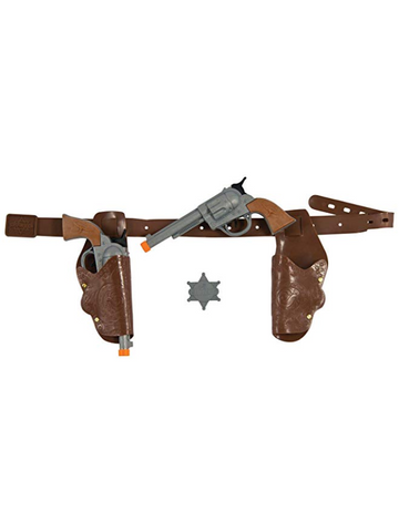 Cowboy Pistol and Gun Holster