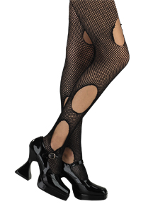 Fishnet Stockings-Large Hole