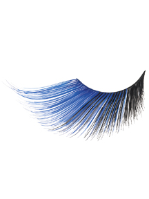 Blue/Black Extra Long Eyelashes