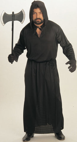 Black Horror Robe-Adult Costume