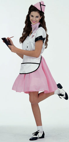 1950's Soda Pop Girl-Adult Costume
