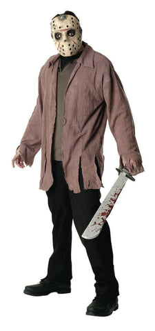 Jason Jacket & Mask-Adult Costume