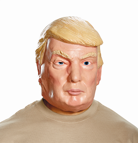 Donald Trump Deluxe Mask-Adult