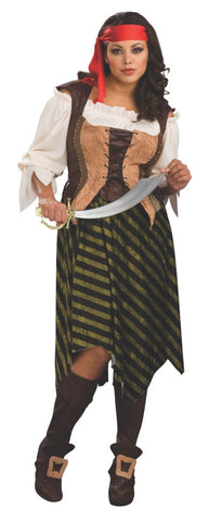 Pirate Wench Deluxe-Adult Plus