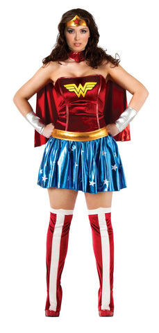 Wonder Woman-Adult Plus Costume