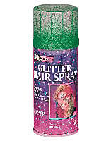 Hair Spray-Glitter Green Costume Accessory