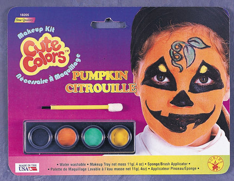 Cute Colors Pumpkin Makeup