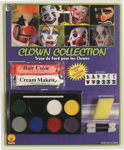 Clown Collection Makeup Kit