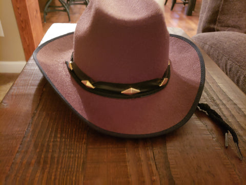 Deluxe Brown Cowboy Hat-Adult Costume Accessory