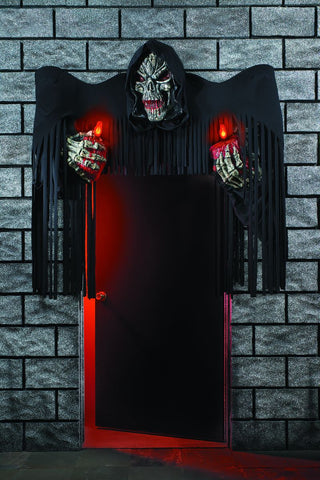 Grim Reaper Door Display