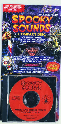 Spooky Sounds CD