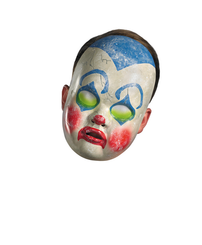 Clown Doll Mask-Adult - ExperienceCostumes.com