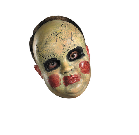 Smeary Doll Face Mask-Adult