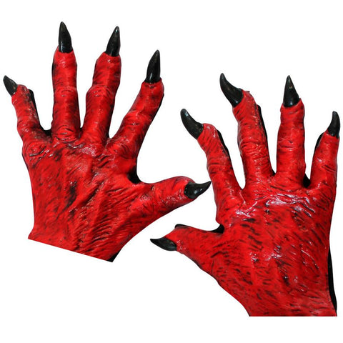 Devil Gloves Red-Adult