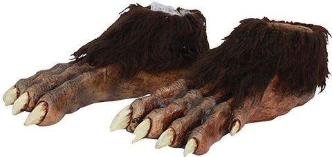 Wolf Feet-Adult Costume Accessory