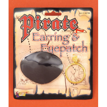 Pirate Earring & Eyepatch