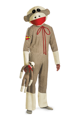 Sock Monkey - Adult Male