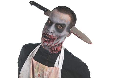 ZOMBIE KITCHEN KNIFE THRU