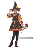 Patchwork Scarecrow-Child Costume