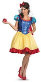 Snow White Deluxe-Adult Costume - ExperienceCostumes.com