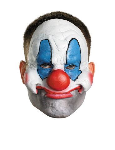 Chinless Creepy Clown - Adult Vinyl Mask