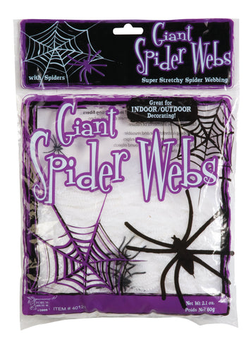 Giant Spider Webs