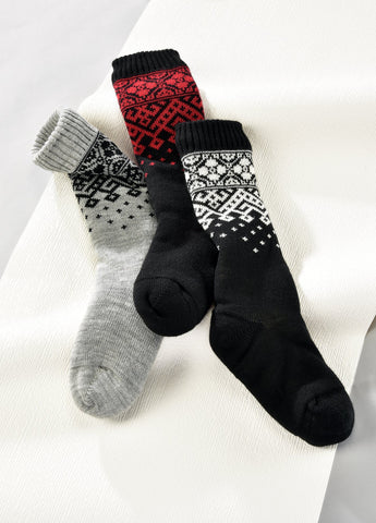 Aspen Cozy Socks-Sherpa Lined