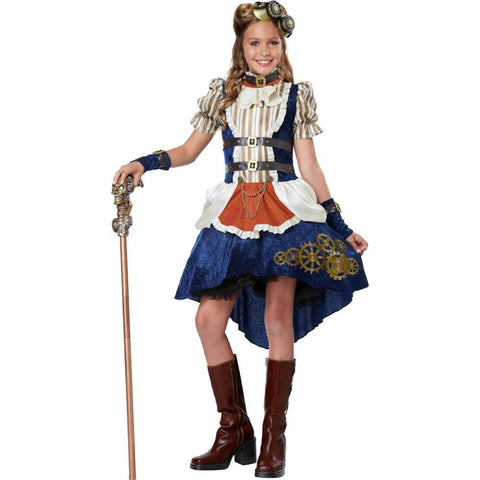 Steampunk Fashion Girl-Child Costume