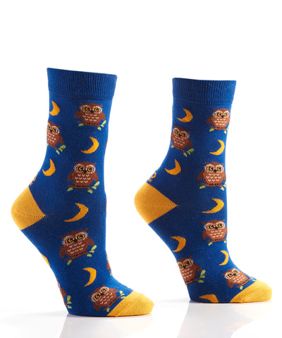 Silly Socks Night Owl-Womens