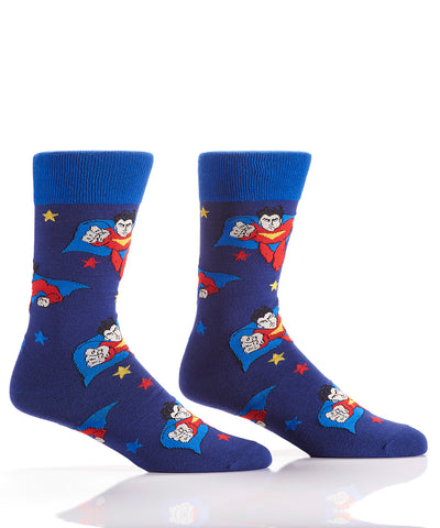 Silly Socks Superhero-Mens