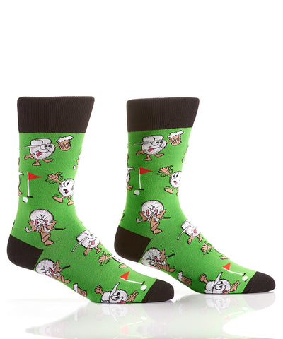 Silly Socks Golf Balls & Beer-Mens