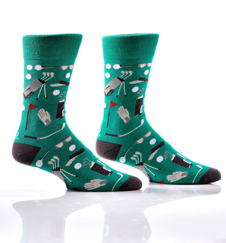 Silly Socks Golf-Mens