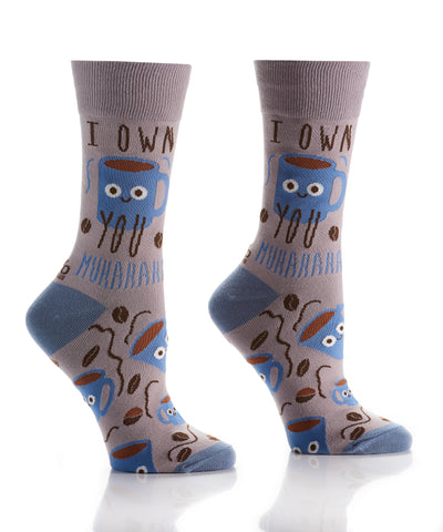 Silly Socks Coffee Boss-Womens