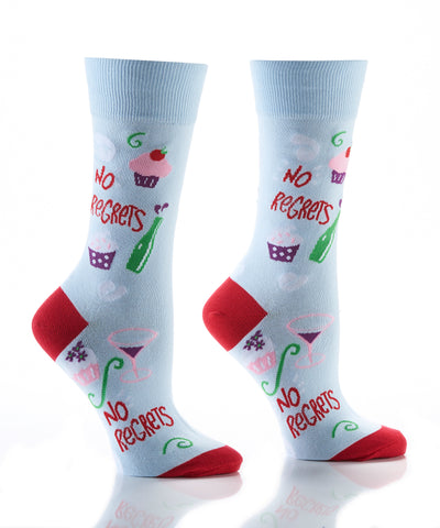 Silly Socks No Regrets-Womens