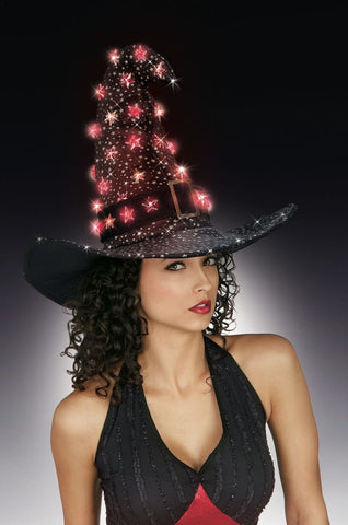 Witch Hat with Stars