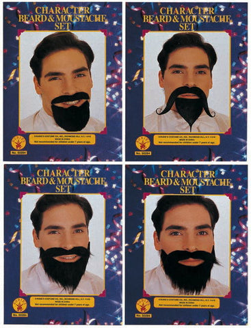 Character Beard & Mustache-Adult Variety