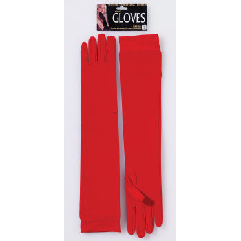 Long Gloves-Red