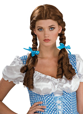 Dorothy Wig-Adult Costume Accessory