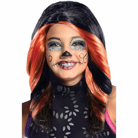 Skelita Calaveras Wig-Child