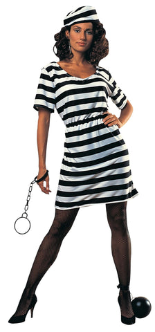 Prisoner Lady-Adult Costume