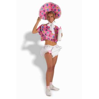 Baby Doll in Pink-Adult Costume