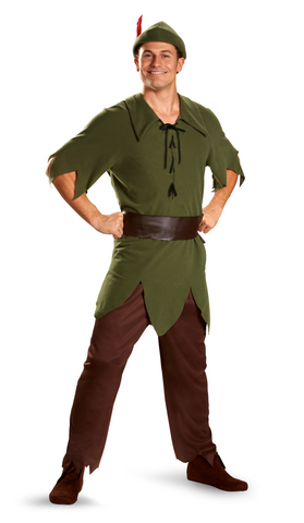 Peter Pan Classic-Adult Costume - ExperienceCostumes.com
