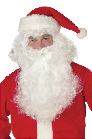 Santa Claus Beard and Wig-Adult