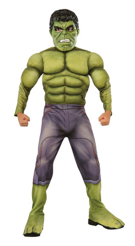 Hulk Muscle Chest Deluxe-Child Costume
